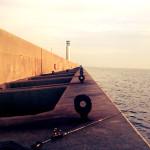 【大阪北港夢洲】釣り初めリベンジの場所、北港スリットは激渋だった