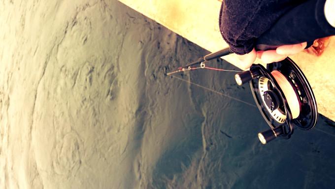 甲子園浜ベランダ面の噴き出し