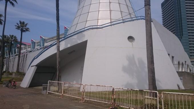 大阪南港ATC裏