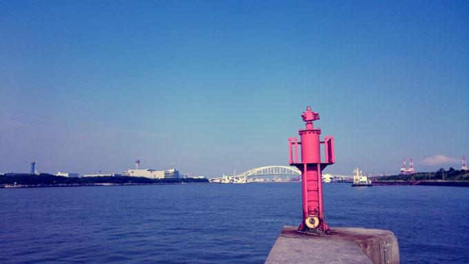 大阪北港夢洲桟橋(サンバシ)