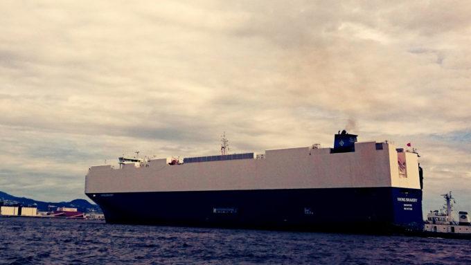 神戸深江 本庄渡船から見る神戸港