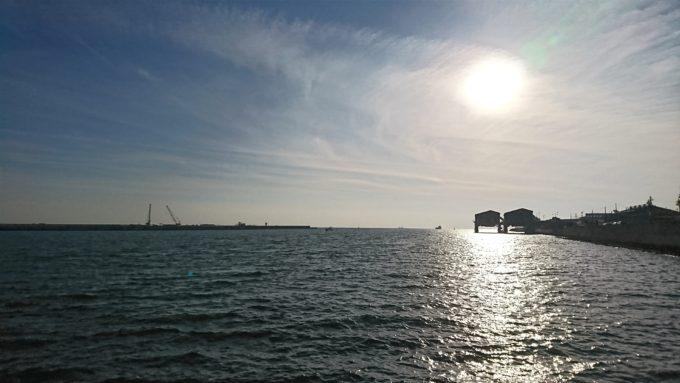 丸島防波堤