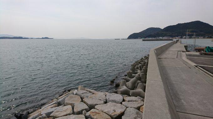 岡山市東区宝伝地先 朝日漁港