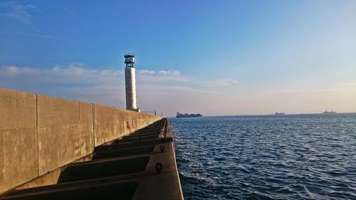 北港レーダーこと大阪灯台
