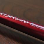 赤い彗星 ダイワ ブラックジャックスナイパー T-超硬42UM