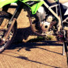 オフロードバイクKLX125でへちさぐり銀治郎を運ぶ方法