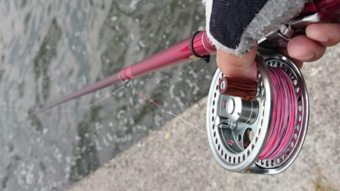 タイコリール 糸の巻き方 外巻き
