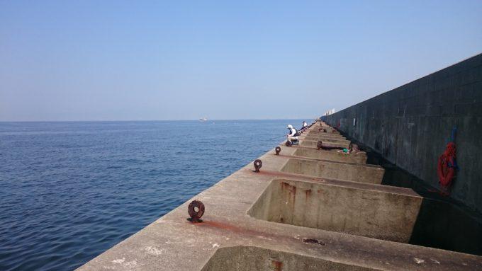 大阪北港夢洲スリット レーダー