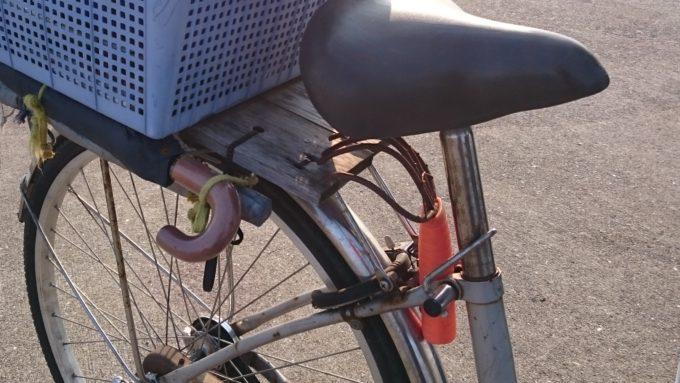 釣り仕様 自転車 改造