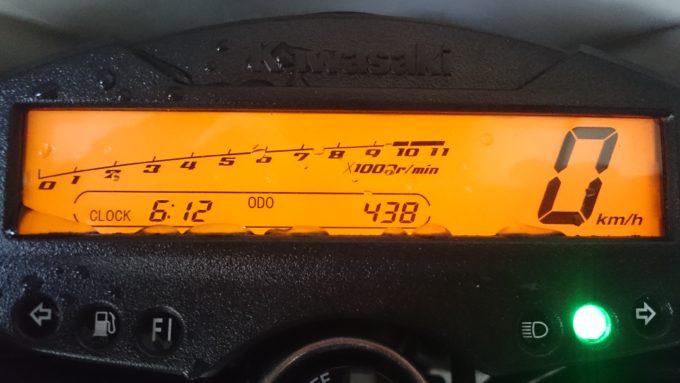 KLX125のメーター