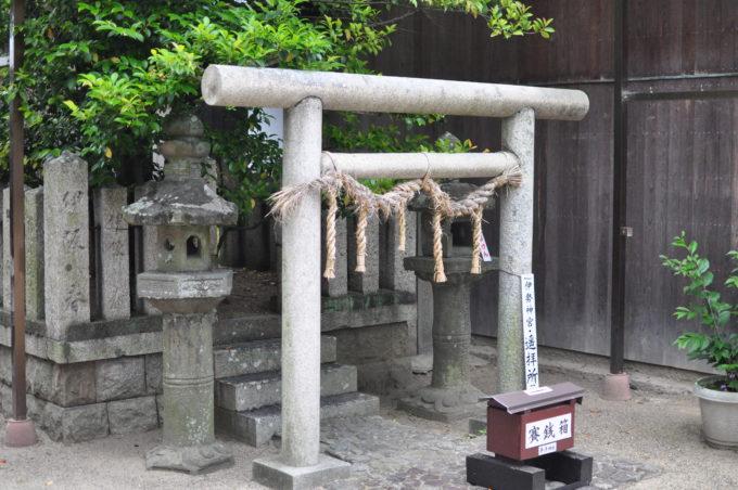 茅渟神社 ちぬじんじゃ 伊勢神宮の遥拝所
