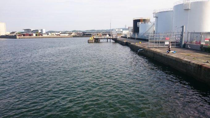 徳島小松島港 本港(新港)岸壁