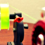 タイコリールに道糸を簡単に巻く方法