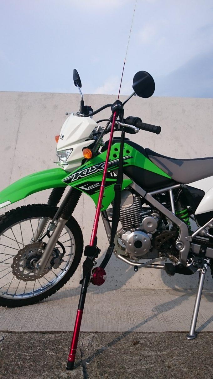 KLX125 バイクランガン