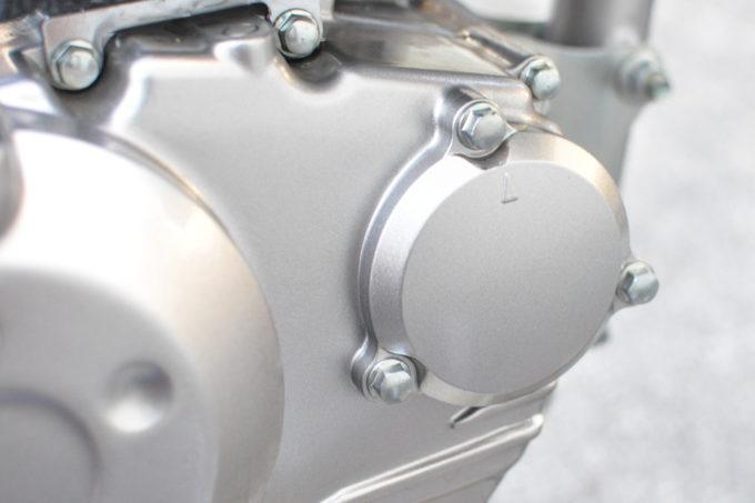 KLX125 エンジンオイル交換
