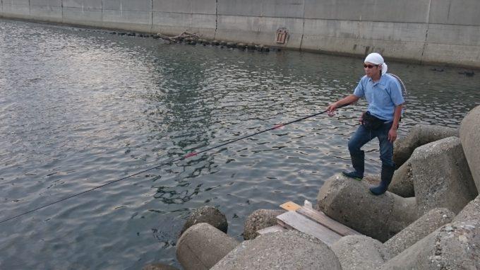 尼崎の魚屋の大将ふささん