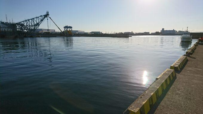 鳴尾浜貯木場