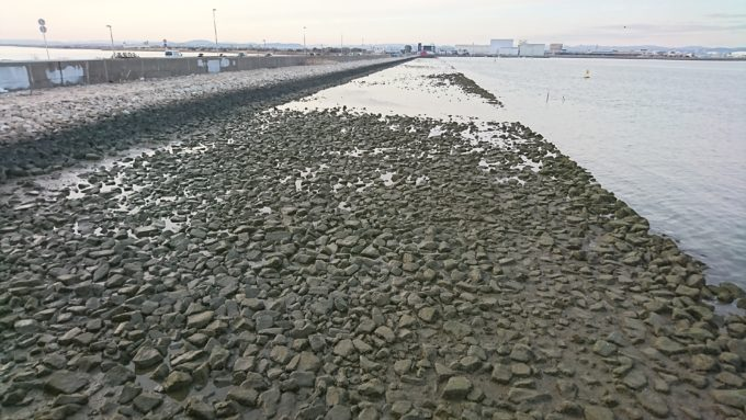 児島湾締切堤防