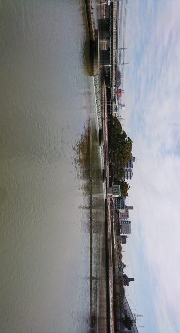 武庫川堰堤