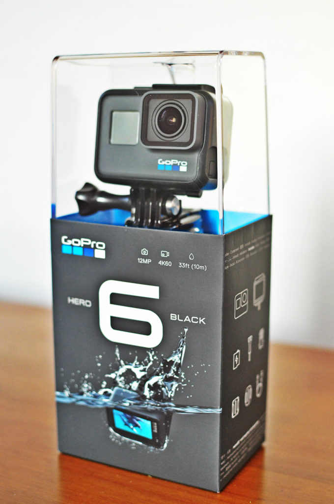 GoPro HERO6 Black(ゴープロ)