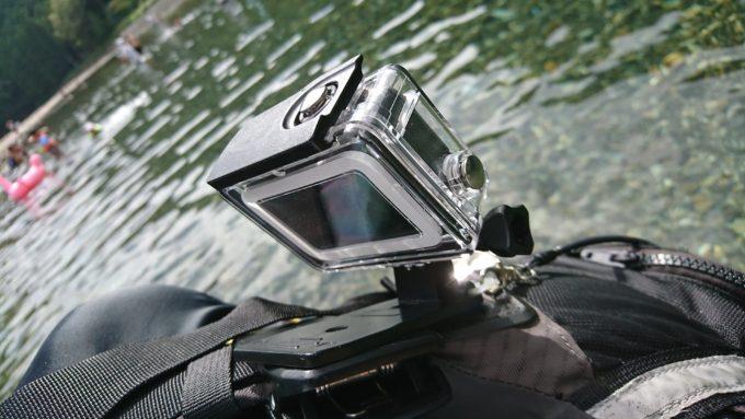 DECADE GoPro HERO 6 5HERO(2018)防水ハウジングケース ダイブハウジング 防水 防塵 保護ケース 水深45m 水中撮影用