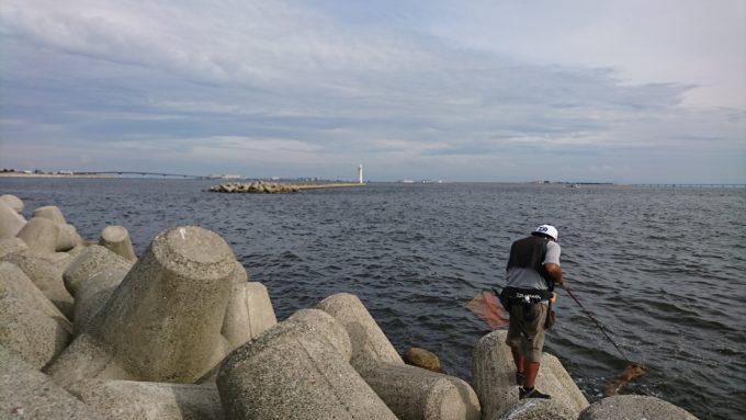 兵庫神戸 和田防波堤 Team BJ Sniper 第1回近畿地区前打ち交流会