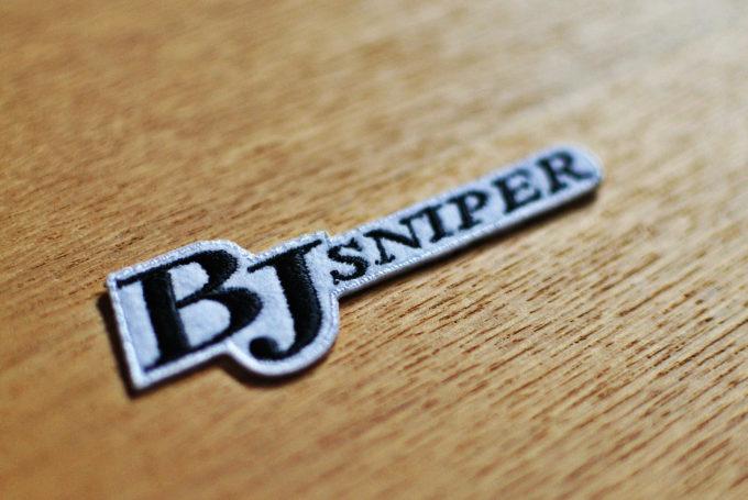 team bj sniper ワッペン