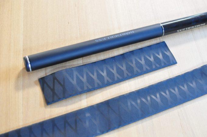 TaiseiDC 熱収縮ラバーグリップ 長さ1.0M 50mm
