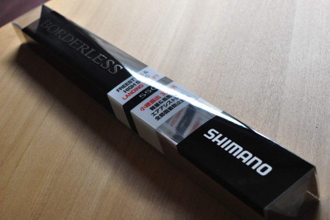 ボーダレスランディングシャフト BORDERLESS LANDING SHAFT シマノ SHIMANO