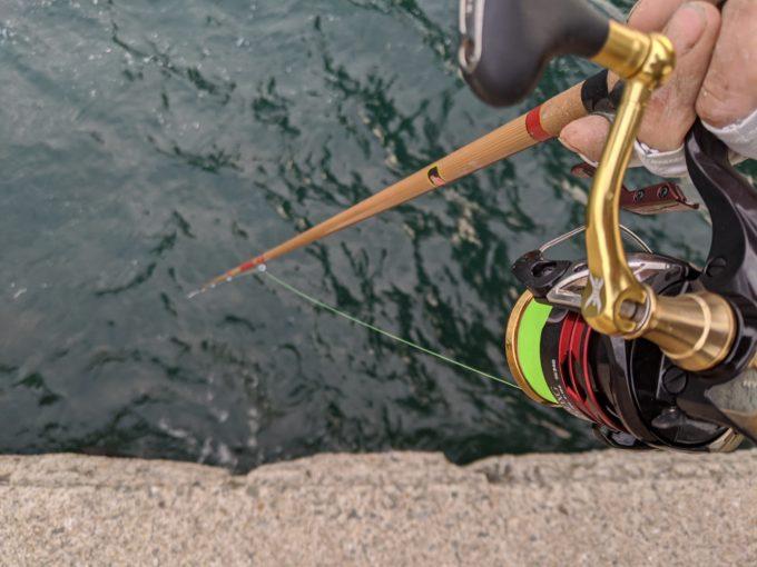 牡蠣 かぶせ釣り