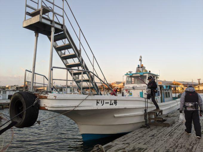 堺出島漁港 夢フィッシング