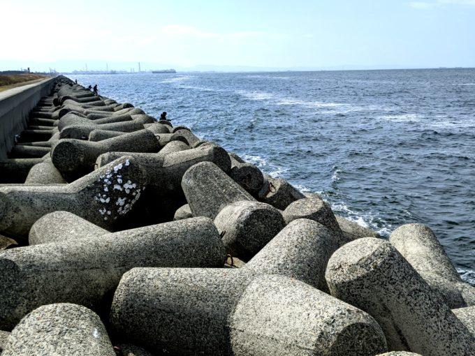大阪南港 バラ石