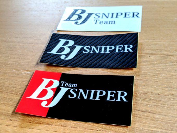 チームBJスナイパー team bj sniper ステッカー