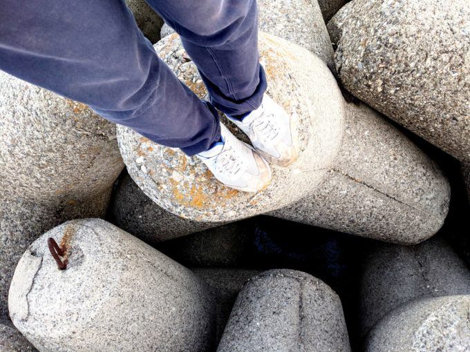 日進ゴム 作業靴 ハイパーV #003 耐油 防滑 軽量 先芯無し メンズ グレー