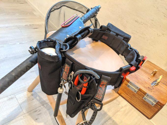 イズファクトリー リーニア ヘビーロッドベルト ロッドホルダーセット CL-06 raiz factory LINHA HEAVY ROD HOLDER SET