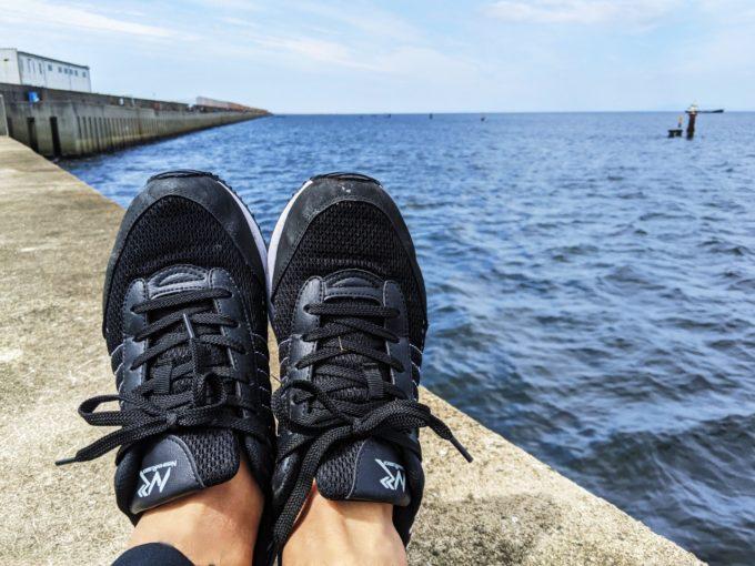 [日進ゴム] 作業靴 ハイパーV #005 耐油 防滑 軽量 先芯無し ハイパーVソール